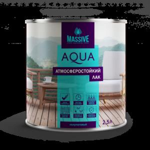 Massive Лак атмосферостойкий Aqua