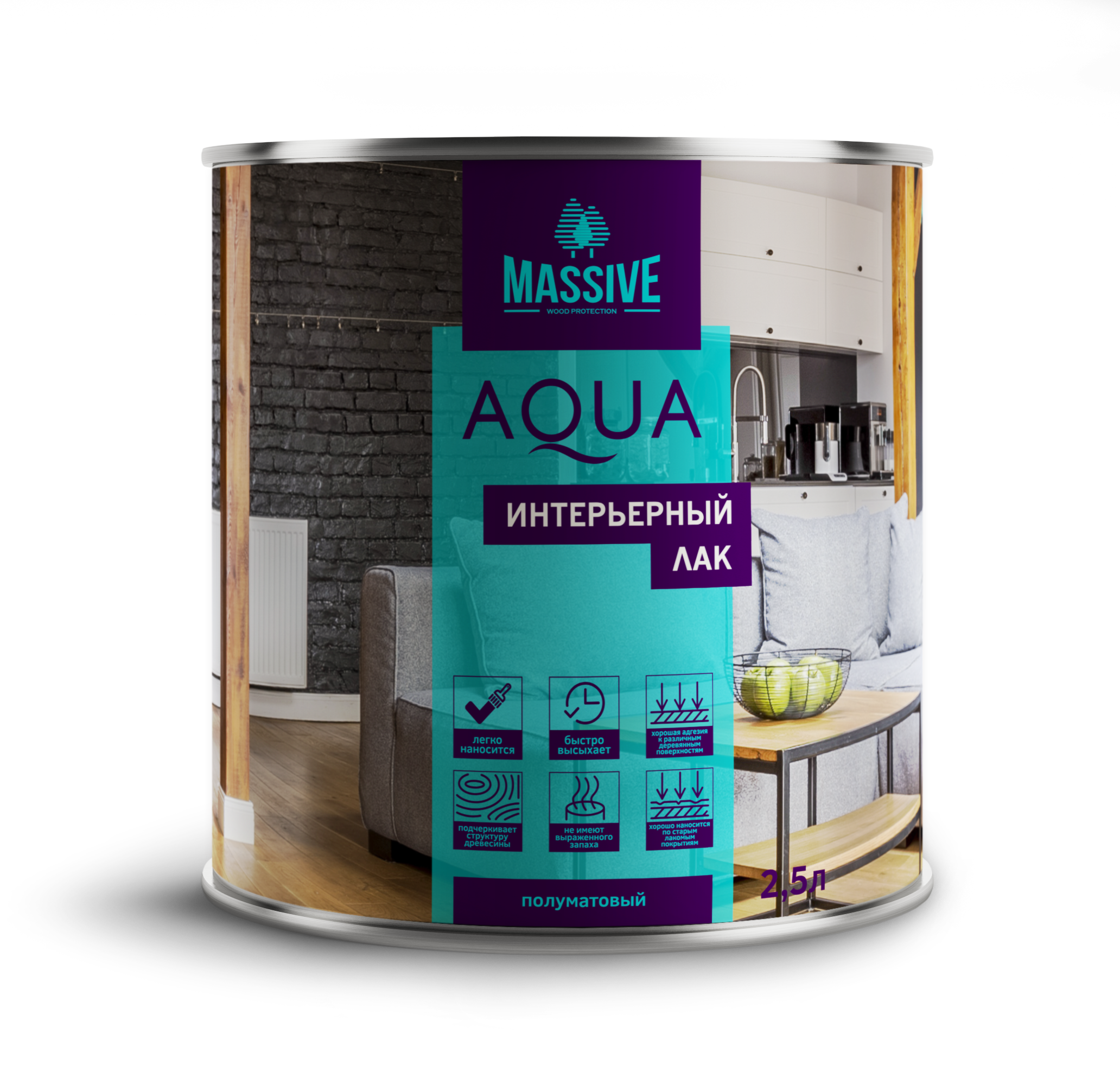 Massive Лак интерьерный Aqua